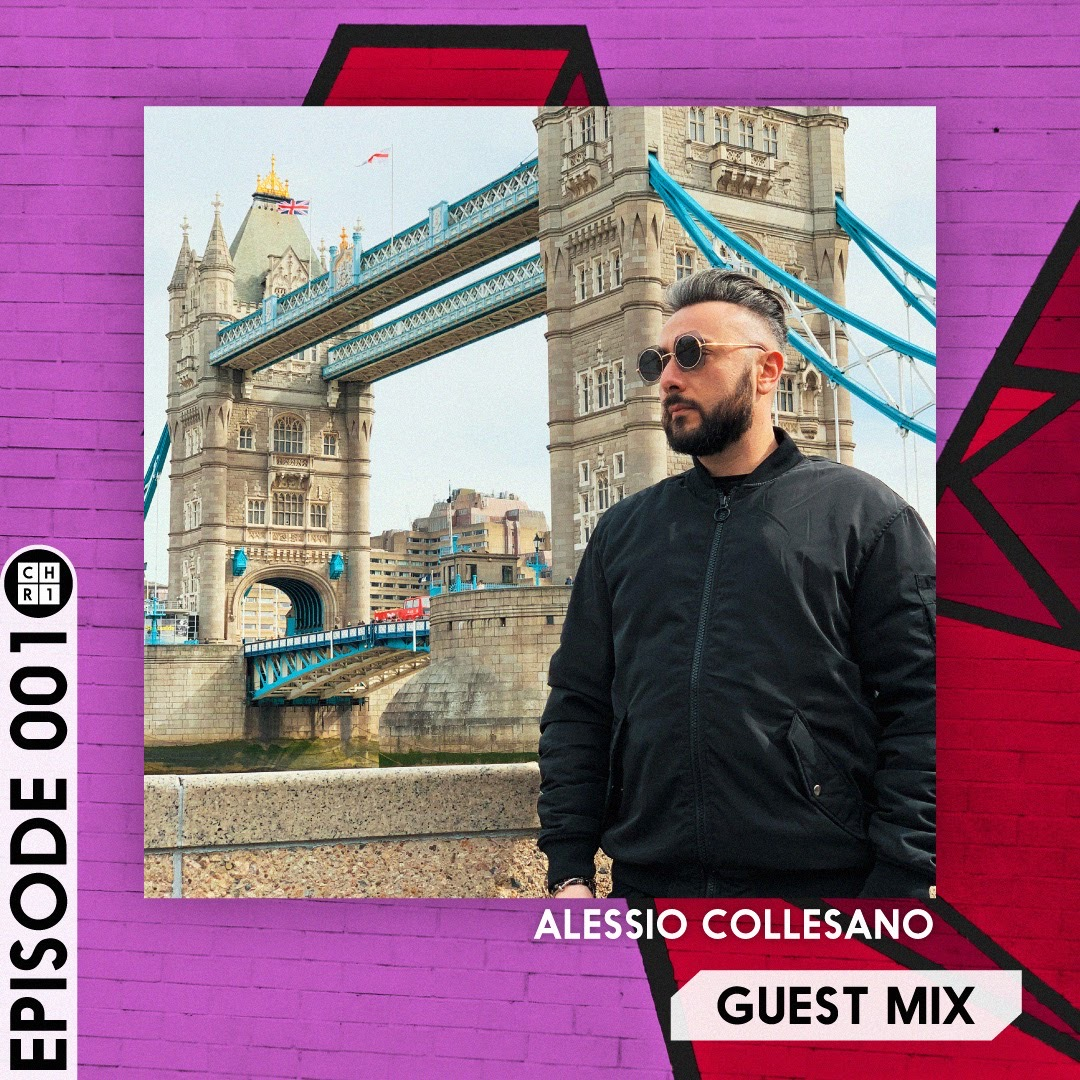 Episode 001 of GUEST MIX by Alessio Collesano on Club House Radio 1